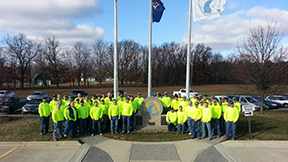 Christman Workers Participate in Safety Stand Down Training